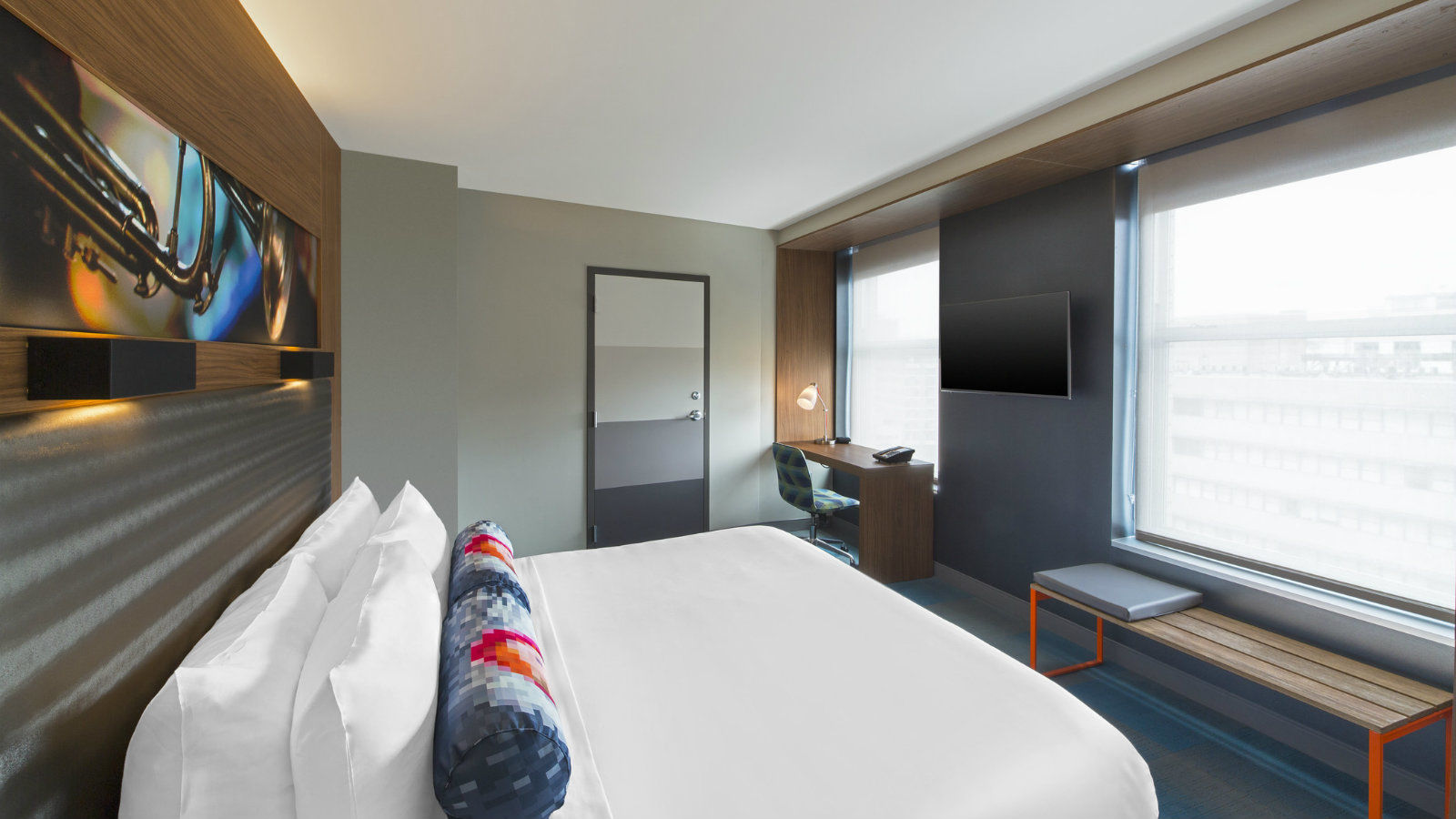 New Orleans Accommodations - Aloft Room